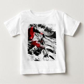 Owning The Mountain  -  Motocross Dirt-Bike Racer Baby T-Shirt