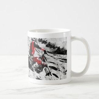 Owning The Mountain  -  Motocross Dirt-Bike Racer Coffee Mug