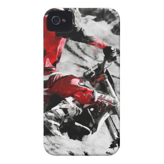 Owning The Mountain  -  Motocross Dirt-Bike Racer iPhone 4 Case