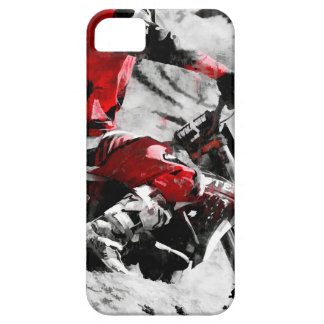 Owning The Mountain  -  Motocross Dirt-Bike Racer iPhone 5 Covers