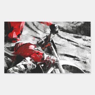 Owning The Mountain  -  Motocross Dirt-Bike Racer Sticker