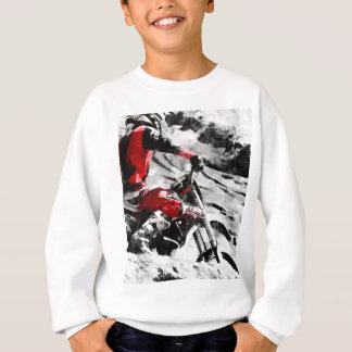 Owning The Mountain  -  Motocross Dirt-Bike Racer Sweatshirt