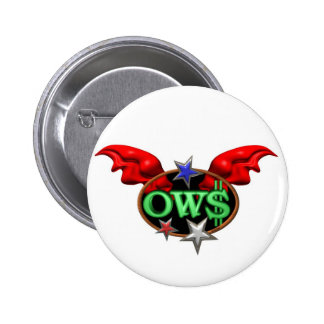 OWS Operation Wall Street Join the movement Pinback Buttons