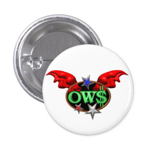 OWS Operation Wall Street Join the movement Buttons