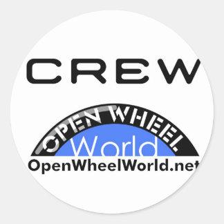 OWW Products Classic Round Sticker