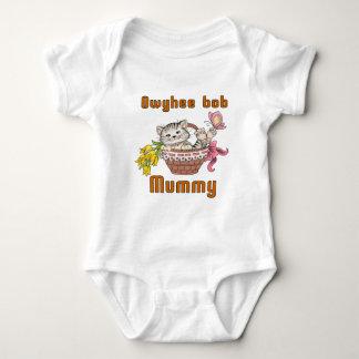Owyhee bob Cat Mom Baby Bodysuit