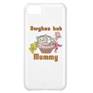 Owyhee bob Cat Mom Cover For iPhone 5C