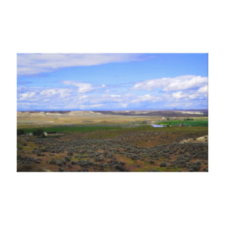 Owyhee River Valley Canvas Print