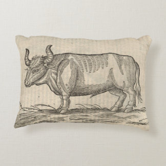 Ox Accent Pillow