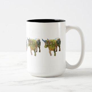 """""""Ox for All Seasons"""" 15 oz mug"""