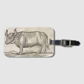 Ox Luggage Tag
