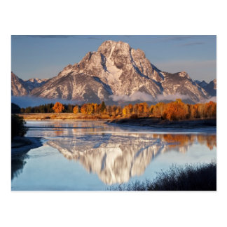 Oxbow Bend, Grand Tetons, in the morning light... Postcard