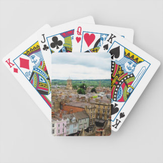 Oxford City Skyline Bicycle Playing Cards