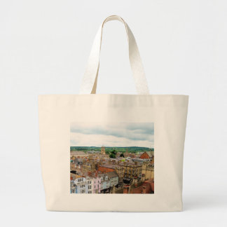 Oxford City Skyline Large Tote Bag