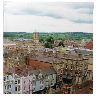 Oxford City Skyline Napkin