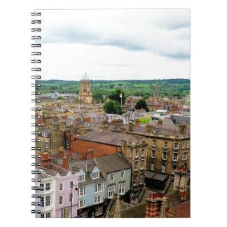 Oxford City Skyline Notebook