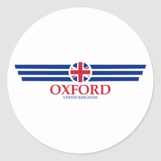 Oxford Classic Round Sticker