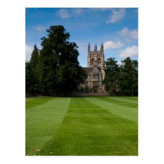 Oxford College Building Postcard