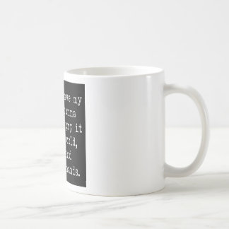 Oxford Comma Coffee Mug