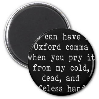 Oxford Comma Magnet