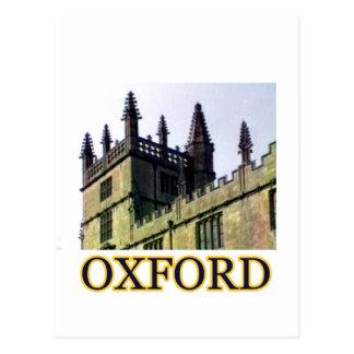 Oxford England 1986 Building Spirals 1 jGibney Postcard