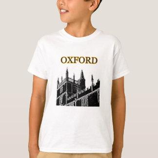 Oxford England 1986 Building Spirals Black jGibney Tshirt