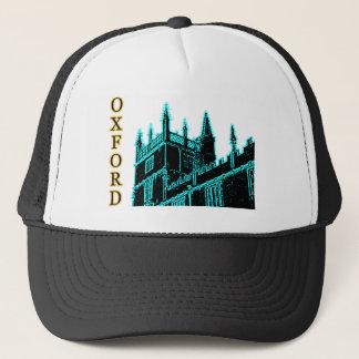 Oxford England 1986 Building Spirals Cyan Trucker Hat