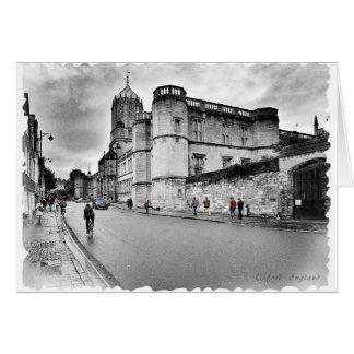 Oxford, England Card
