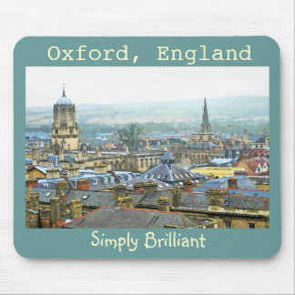 Oxford, England, Roof Tops, Simply Brilliant Mouse Pad