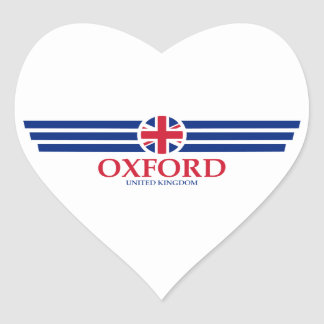 Oxford Heart Sticker