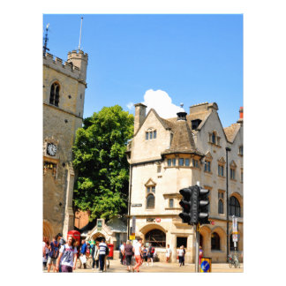 Oxford Letterhead Template