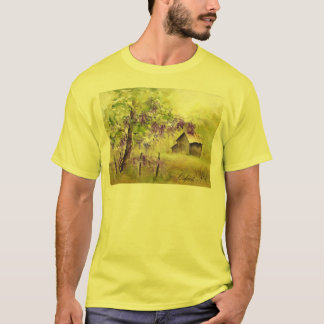Oxford, NC Landscape and Barn T-Shirt