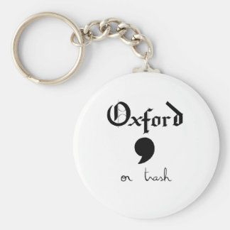 Oxford or Trash Keychain
