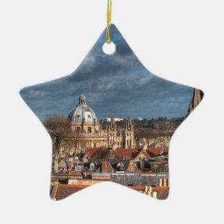 Oxford Skyline Ceramic Ornament