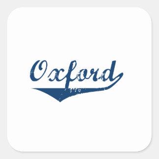 Oxford Square Sticker