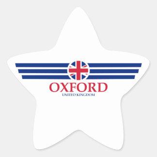 Oxford Star Sticker