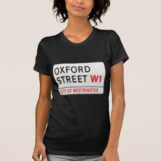 Oxford Street London Street Sign T-Shirt