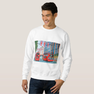 Oxford Street Men's Basic Sweatshirt