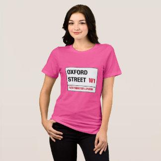 Oxford Street W1 Westminster London street sign T-Shirt