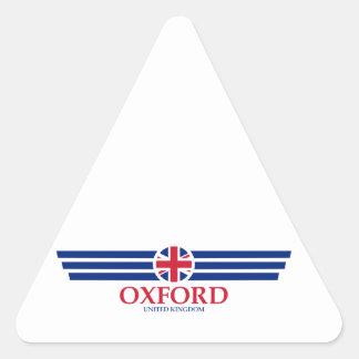 Oxford Triangle Sticker