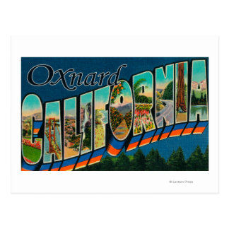 Oxnard, California - Large Letter Scenes Postcard