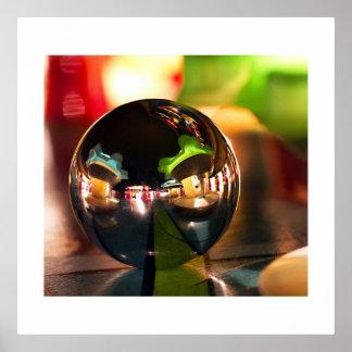 OXO ball II pinball poster