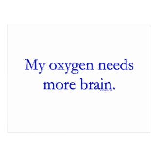 Oxy Brain Postcard