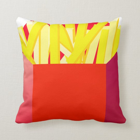 Oxygentees French Fry American MoJo Pillow