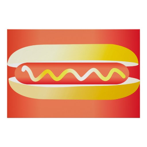 Oxygentees Hot Dog Posters
