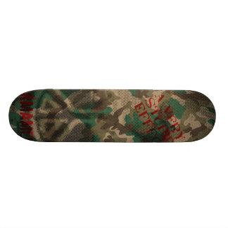 Oxygentees Peace Brother Custom Skate Board
