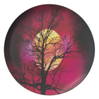 Oxygentees Wicked Sky Plate
