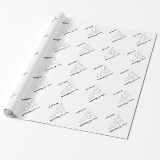 Oxytocin Hormone Of Love (Chemistry) Wrapping Paper