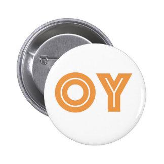 OY-Kvetcher's Button-Jewish Gift 2 Inch Round Button