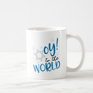 Oy to the World Coffee Mug
